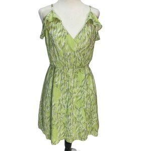 BCBGeneration💚Faux Wrap Dress Green Size M
